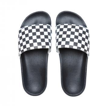 Pantofle Vans Slide-On CHECKERBOARD WHITE