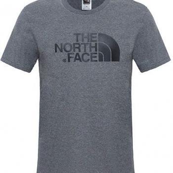 Tričko The North Face S/S EASY TEE TNF MEDIUM GREY HEATHER (STD)