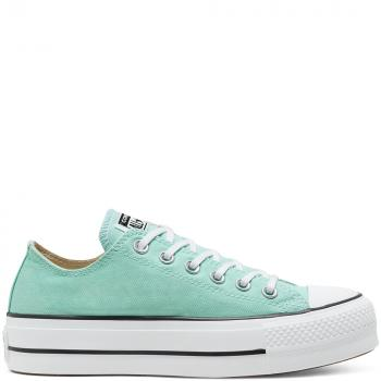 Boty Converse Chuck Taylor All Star Lift GREEN/WHITE