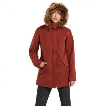Kabát Volcom Less Is More 5K Parka Brick