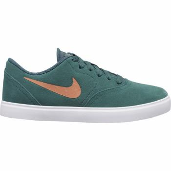 Boty Nike SB CHECK SUEDE ESS+ GS faded spruce/metallic copper-white