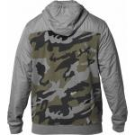 Mikina Fox Pivot Zip Fleece Grey Camo