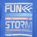 Mikina Funstorm Leinn blue