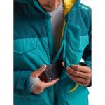 Zimní bunda Burton COVERT JK GBSLAT/DPTEAL