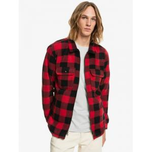Košile Quiksilver TOLALA ALLOVER AMERICAN RED TOLALA PLAID