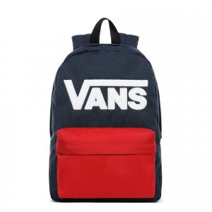 Batoh Vans NEW SKOOL BACKPACK BOYS DRESS BLUES/CHILI PEPPER