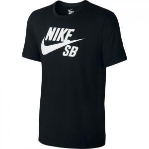 Tričko Nike SB SB logo TEE black/black/white
