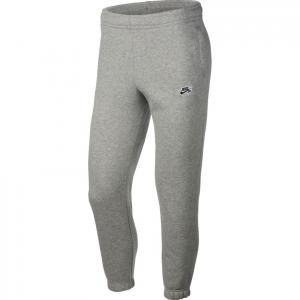 Tepláky Nike SB PANT ICON FLC ESSNTL dk grey heather/black
