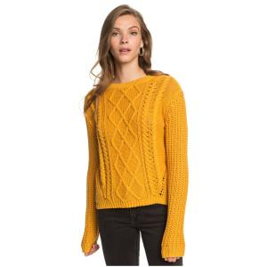 Svetr Roxy ENGLAND SKIES MINERAL YELLOW