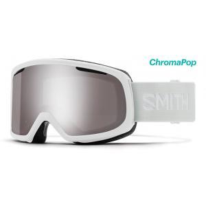 Lyžařské brýle Smith RIOT                      WHITE VAPOR-ChromaPop Sun Platinum Mirror