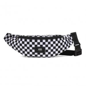 Ledvinka Vans MINI WARD CROSS BODY Black/White Check