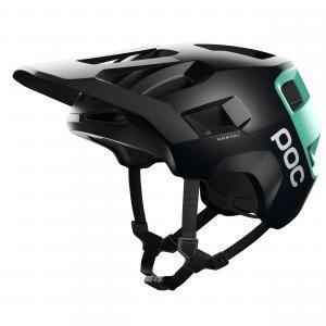 Cyklistická helma POC Kortal Uranium Black/Fluorite Green Matt