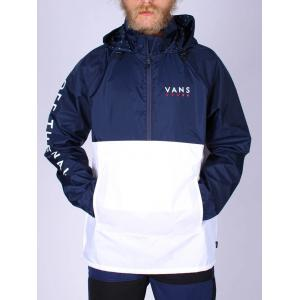 Bunda Vans VICTORY ANORAK WHITE/DRESS BLUES