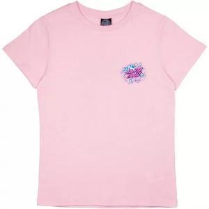 Tričko Santa Cruz Crystal Hand T-Shirt Dusty Rose