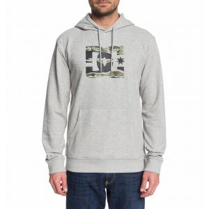 Mikina DC STAR PH GREY HEATHER/CAMO