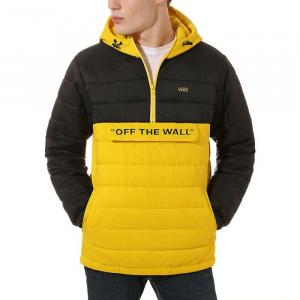 Zimní bunda Vans CARLON ANORAK PUFFER Sulphur Yellow