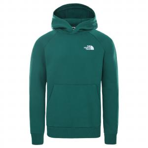 Mikina The North Face RAGLAN REDBOX HOODIE EVERGREEN