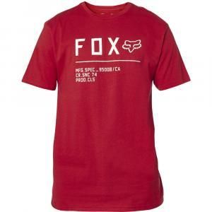 Tričko Fox Non Stop Ss Premium Tee Red/White