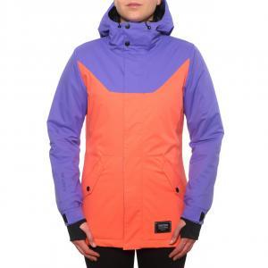 Zimní bunda Funstorm Ergusa violet/peach