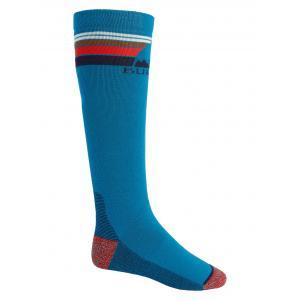 Ponožky Burton EMBLEM MIDWEIGHT SOCK BAY BLUE