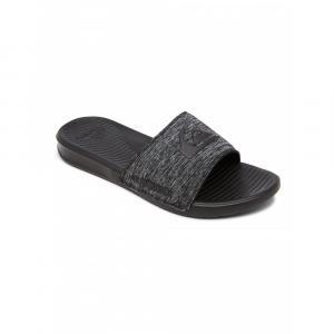 Pantofle Quiksilver BRIGHT COAST PRINT GREY/GREY/BLACK