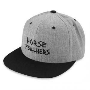 Kšiltovka Horsefeathers HEATH CAP heather gray