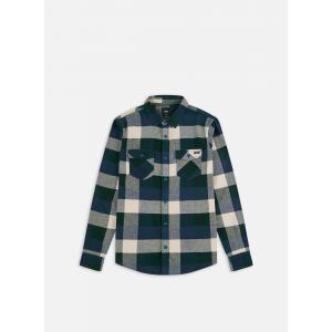 Košile Vans BOX FLANNEL DRESS BLUES/SCARAB