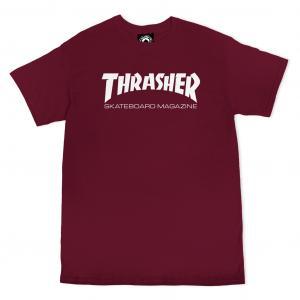 Tričko Thrasher Skate Mag Maroon