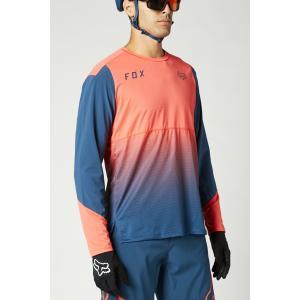 Pánský cyklodres Fox Flexair Ls Jersey Atomic Punch