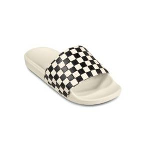 Pantofle Vans Slide-On Checkerboard WHITE/BLACK