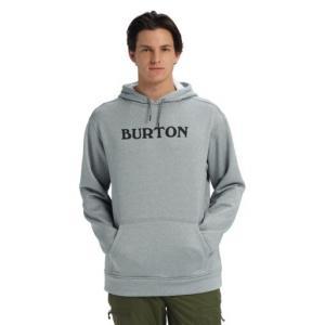 Burton M OAK PO HORIZ LOGO GRAY HTR