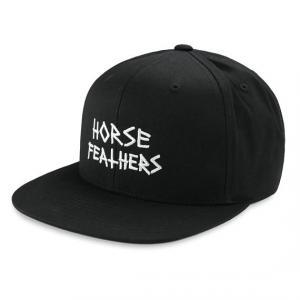 Kšiltovka Horsefeathers HEATH CAP black