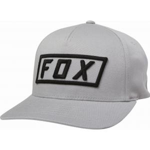 Kšiltovka Fox Boxer Flexfit Hat Steel Grey