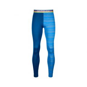 Termo spodky Ortovox 185 Rock'N'Wool Long Pants Just Blue