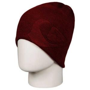 Čepice Quiksilver M&W SLOU BEANIE KETCHUP RED
