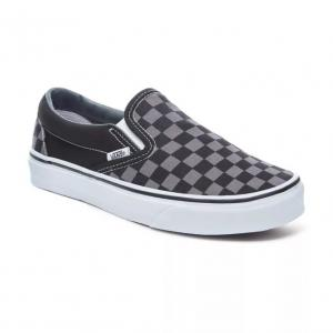 Boty Vans Classic slip-on black/pewter checkerboard