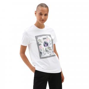 Tričko Vans BORDER FLORAL BF White