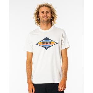 Tričko Rip Curl SURF REVIVAL DECAL TEE  BONE