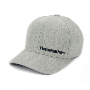 Kšiltovka Horsefeathers BECKETT CAP heather gray
