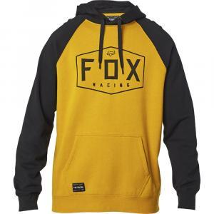 Mikina Fox Crest Pullover Fleece Mustard