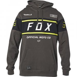 Mikina Fox Official Pullover Fleece Smoky