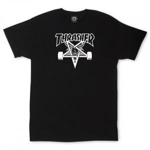 Tričko Thrasher Sk8Goat Black