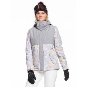 Zimní bunda Roxy JETTY BLOCK JK MICRO CHIP EDELWEISS