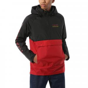 Bunda Vans VICTORY ANORAK chili pepper/black
