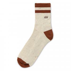 Ponožky Vans HALF CREW OATMEAL/ARGAN OIL