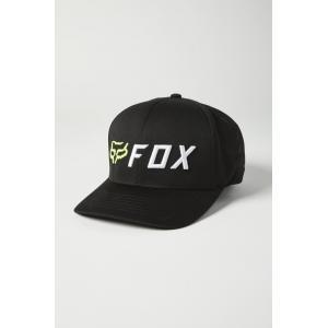 Kšiltovka Fox Apex Flexfit Hat Black/Yellow