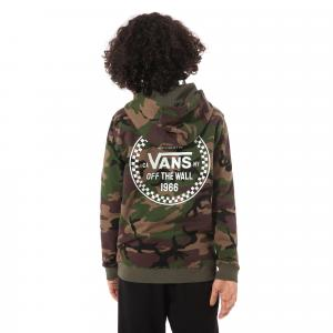 Mikina Vans CHECKER 66 PO BOYS Camo
