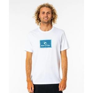 Tričko Rip Curl CORP ICON TEE  WHITE