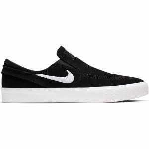 Boty Nike SB ZOOM JANOSKI SLIP RM black/white-white