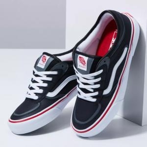 Boty Vans Rowley Black/White/Red